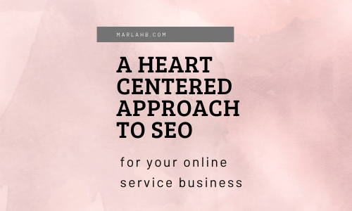 heart centered approach to seo