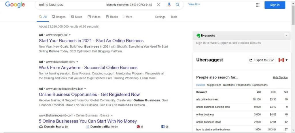 show-up-ubersuggest-chrome