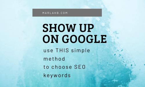 show up on google seo