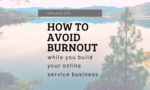 how to avoid burnout seo