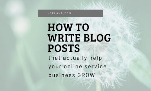 how to write blog posts seo