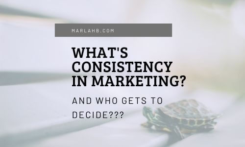 what's consistency in marketing turtle